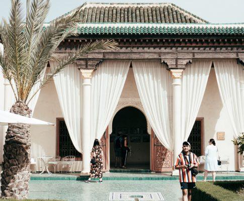 Marrakesch – 1001 Farben umrahmt von Terrakotta